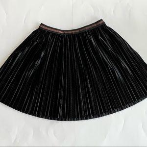 Epic Threads Girls Black Velvety Skirt